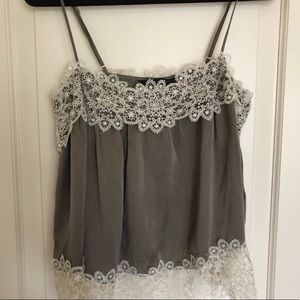 Zara Lace Sleeveless top